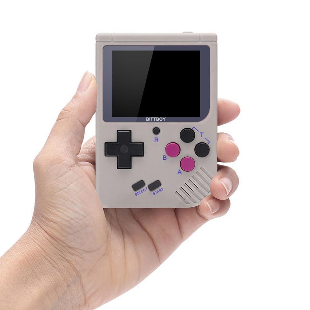 New BittBoy V3.5 Console de jeux vidéo rétro à main Enregistrer / Charger console de jeu + 8 Go MICRO SD CARTE T200410