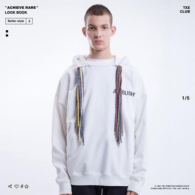 رجل الهيب هوب هوديس العصرية الأحشاء هوديي إلكتروني الفاخرة ambush ملابس الرجال الشارع الملابس 2019 جديد إمرأة السترة 4 ألوان لربيع