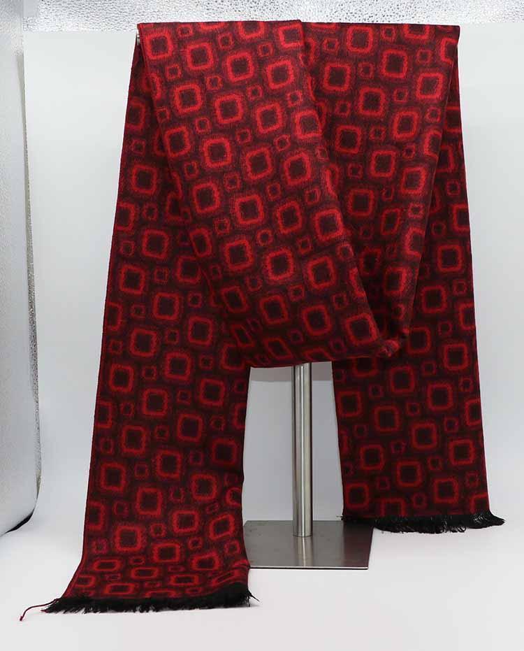 Sciarpa di seta unisex Pashmina scialle 180 * 30cm Donna Uomo Autunno Inverno calda coperta sciarpe dell'involucro Stripes Jacquard nappa Bandana Sciarpe regalo