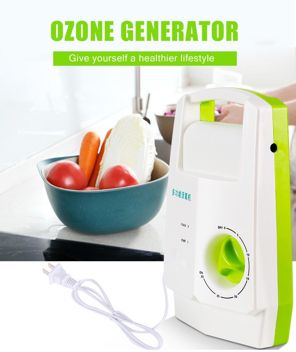 ATWFS 오존 소독 세탁기 과일과 야채 오존 발생기 해독 과일과 야채 오존 발생기 해독 산소 아쿠아