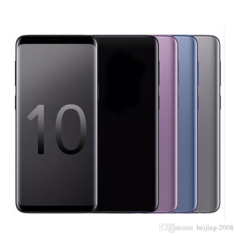 Full Screen Goophone e s 10+ MTK6580 quad core 1GRAM 8G ROM 6.3inch Cellphone Show 4G LTE Android7.0 Unlocked Phone