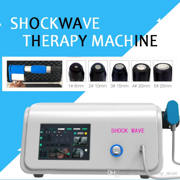 2019 Compressor 8 Bar Radial Type ESWT Device Extracorporea Shock Wave Therapy Machine for Treatment Physiotherapy