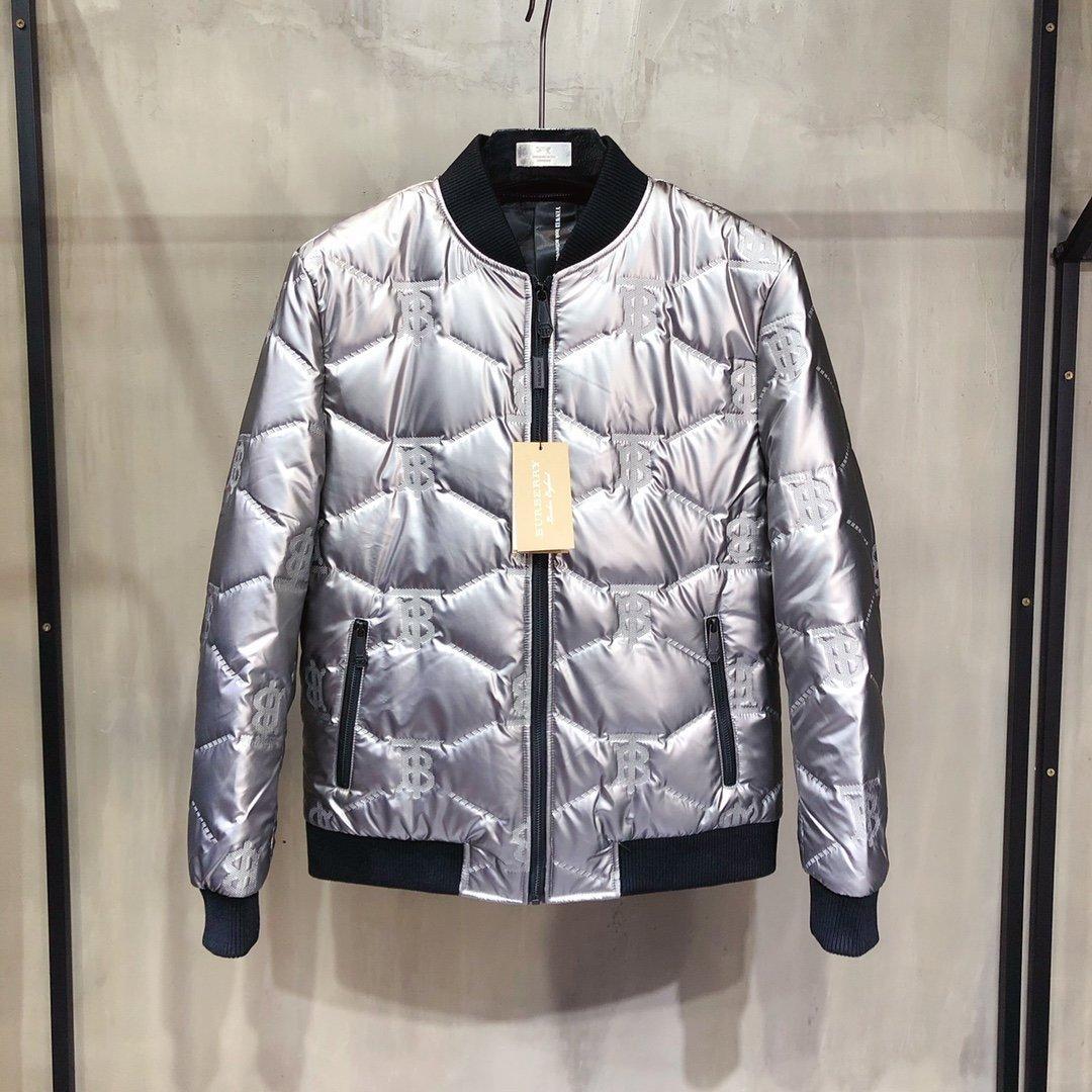 Giacca di lusso inverno Giù cappotto Con lettera Imprint maschio imbottito nuovo cappotto di modo B100498X