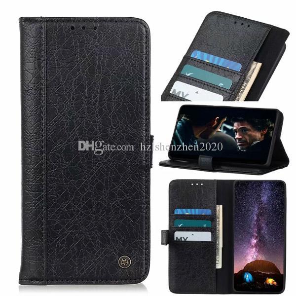 Мода ретро магнитный ультра тонкий носорог кожа бумажник чехол Чехол для Samsung Galaxy M30S A20S A10S Note10Plus A80 A90