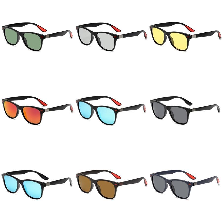 도매-2020 남녀의 HD 노란색 렌즈 구글 선글라스 나이트 비전 고글 자동차 운전 드라이버 안경 안경 UV 차단 # 523