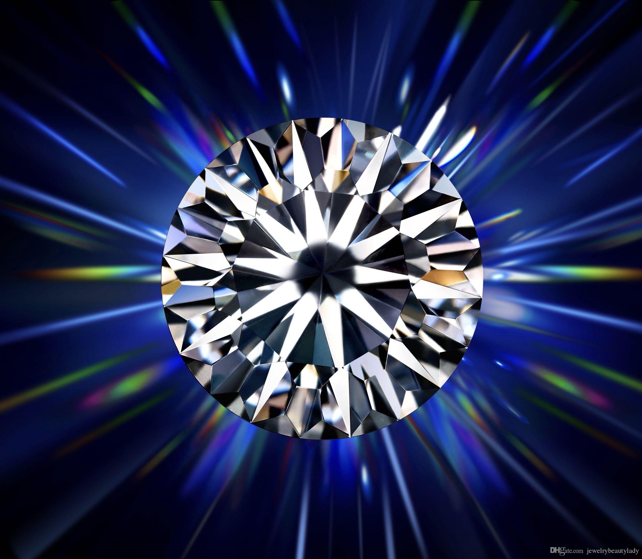 Taglia eccellente 0.3mm Colore bianco Moissanite Forma rotonda sciolto Moissanites Pietra per la produzione di gioielli