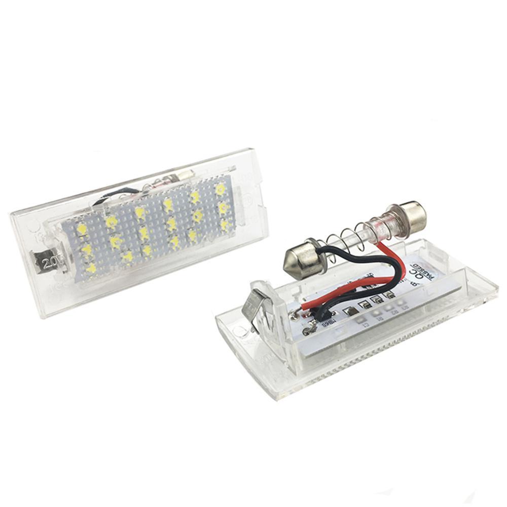 1 Paar 18 LED Fehler herunter laden Nummernschild Licht für BMW X5 E53 X3 E83 1999-2006 X3 E83 2003-2010 Car Styling Zubehör
