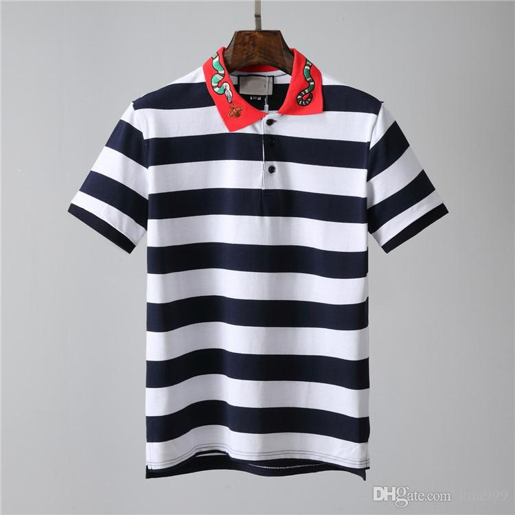 2019 nueva llegada del verano camisetas de la moda de calidad superior Desig Ropa hombre medusa Imprimir Tees tamaño M-3XL 668