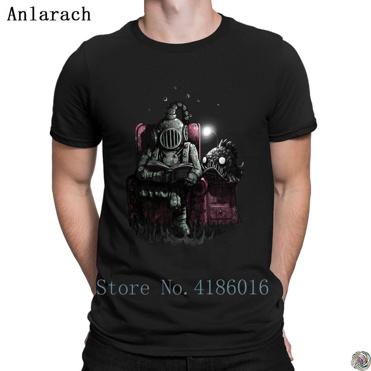 Lesen Taucher t-shirts Hip-Hop Top Charakter Frühlings-Muster T-Shirt für Männer Klassisches feste Farbe Euro-Größe S-3XL Famous