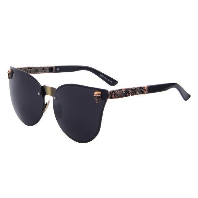 Round-Spiegel-Gläser Männer Sonnenbrille-Frauen Männlich Weiblich Beschichtung Sonnenbrille
