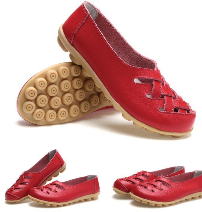 scarpe casual madre delle donne piatto anti scarpe infermiera slittamento primavera estate spiaggia scarpe stivali vuoti