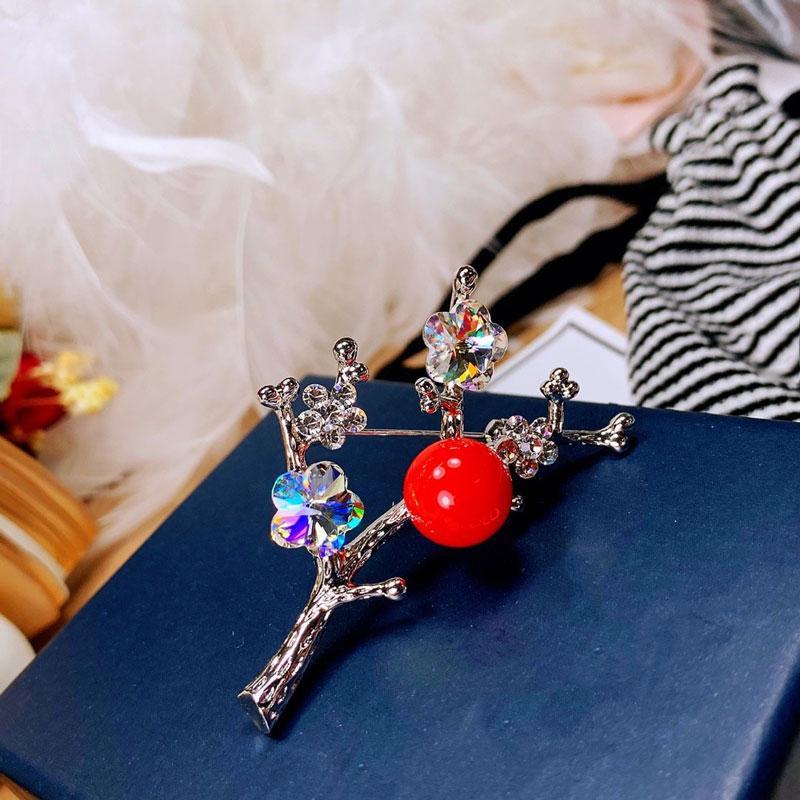 Pinches, Broches Pluune Broche Femmes Pendentif Bijoux Perle Pour Fashion Noël Anniversaire Cadeau