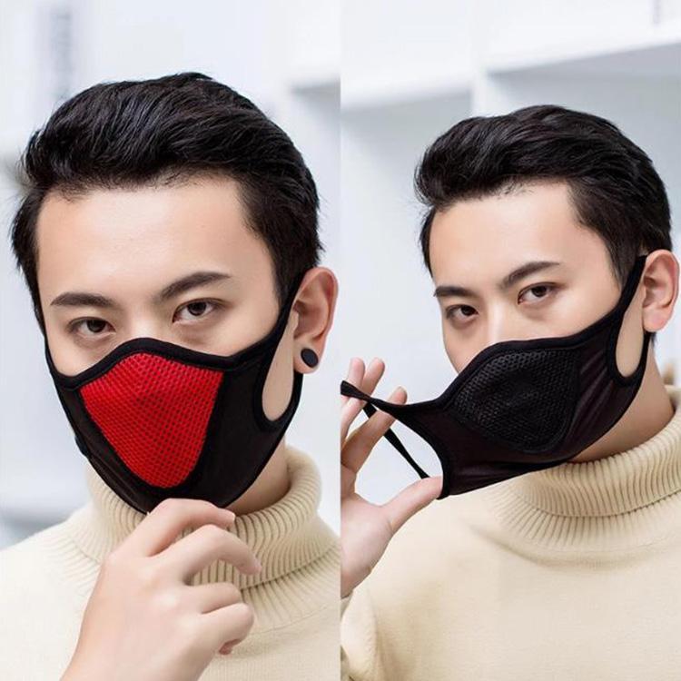 Mode Gesichtsmaske Im Freien Sport Anti Droplet Aspiratoren Mund Masken warm halten Wiederverwendbare Staubdichtes Beliebte Maske Netz 4 Farbe erhältlich