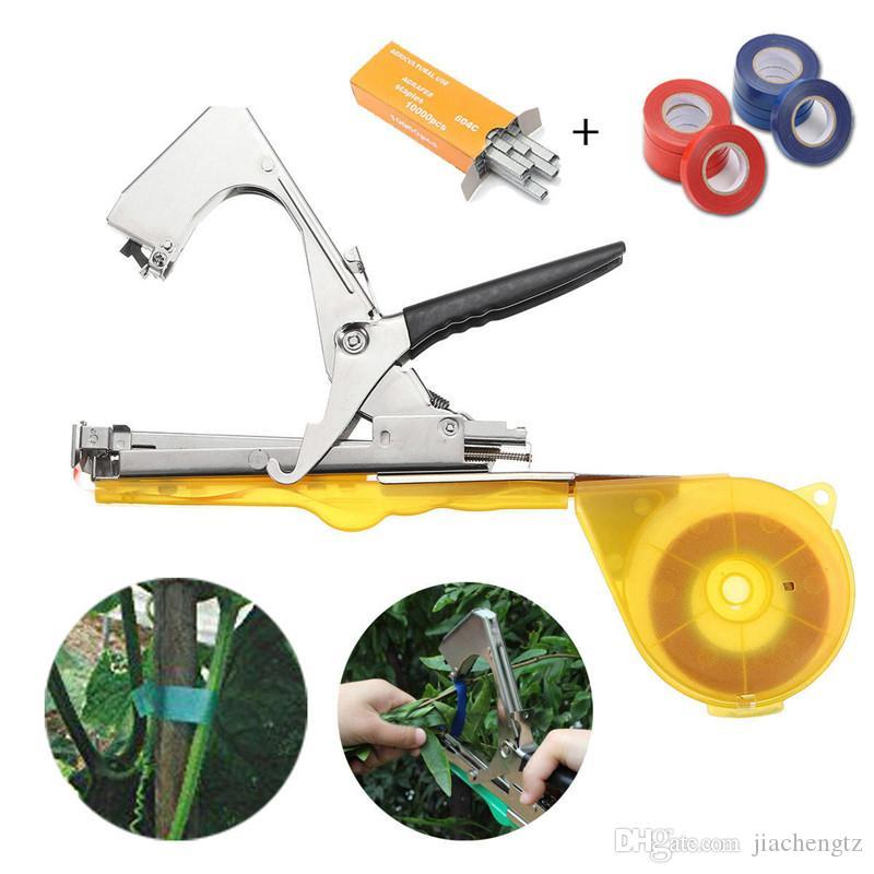 Bahçe Tesisi Tying Teyp Aracı Tapener Şube Bağlama Makinesi Tapetool Sebze Üzüm Kök Gun Bind Makinesi Budama Araçları Çemberleme
