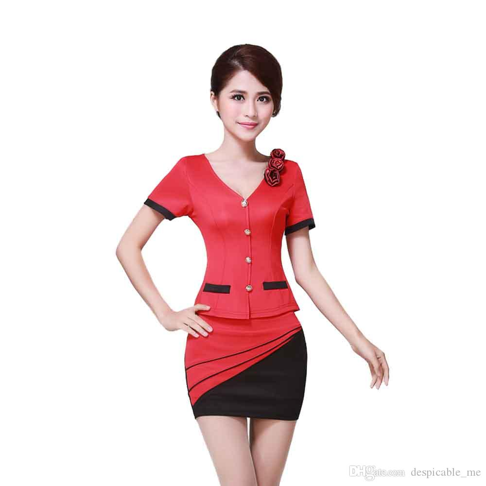 Sexy Stewardess Suit Sailor Moon Uniform Women Costume Plus Size XXL 3XL Cheerleader Costume Two Pieces Woman Skirt And Top Suit
