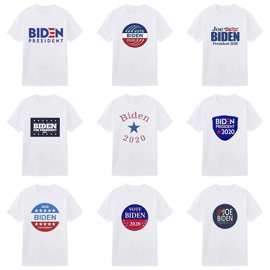 Mens Summer Crew Neck Biden T-Shirts Fashion Printed Designer Biden T Shirts With Short Sleeve Slim Fashion Tops Tees Male Clothing #259