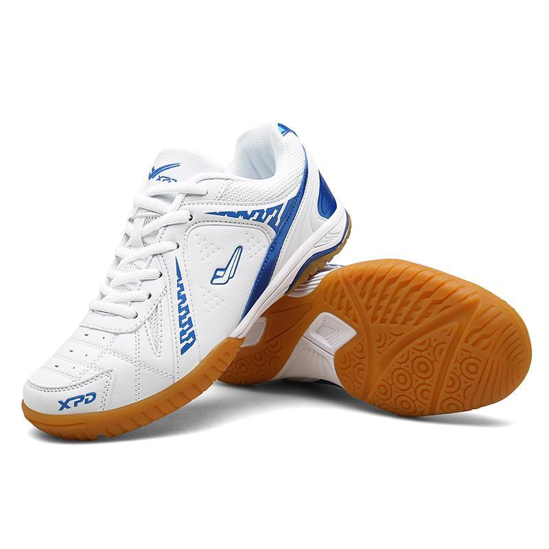 FL JUMPMORE Unisex professionale Ping pong scarpe di gomma inferiore scarpe sportive Pingpong addestratori di sport antiscivolo traspirante