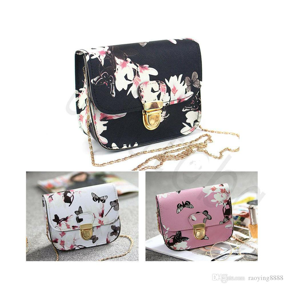 Hot Girl Lady Women Floral Handbag Shoulder Bag Tote Purse Messenger Satchel Bag