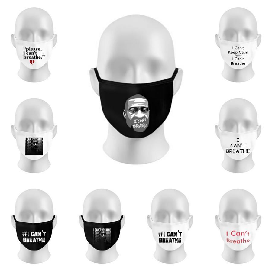 Breathing Valve Face Mask Protective Masks Adjustable Cotton Masks Washable Mask Reusable Mouth Masks Designer Letter Mask Cca12 #141