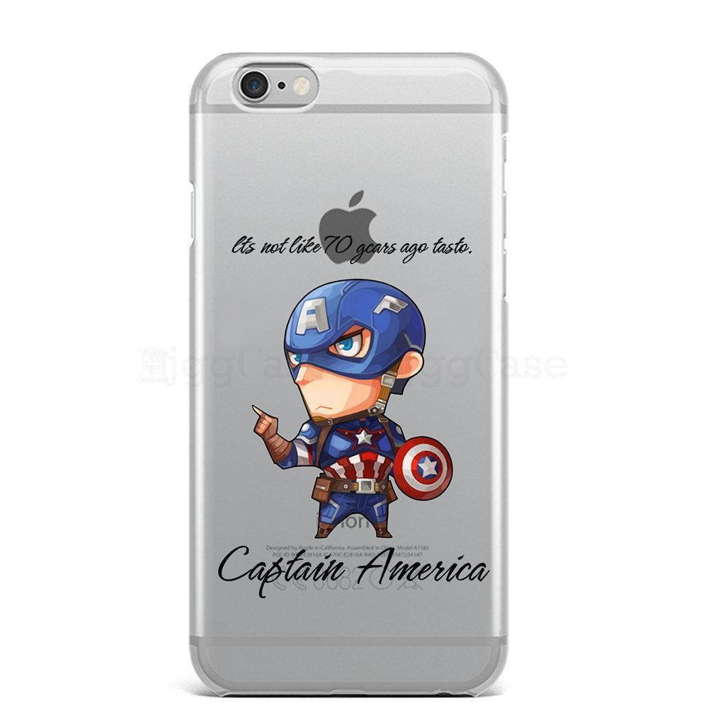Spiderman Iron Man Captain America Avengers Phone Case For Iphone 6 6s 7 8 Plus X 5 5s Se Super Hero Silicon Soft Cases