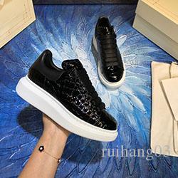 Luxus Männer Frauen Schuhe Top Echtes Leder Lovers bequemer Breathable Freizeitschuh Günstige beste Qualität C0173
