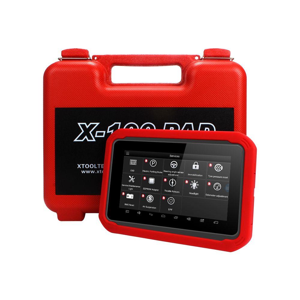 X100 PAD OBD2 Auto clé programmeur diagnostic scanner de code automobile Lecteur IMMO EPB DPF BMS Réinitialiser EEPROM compteur kilométrique mise à jour en ligne