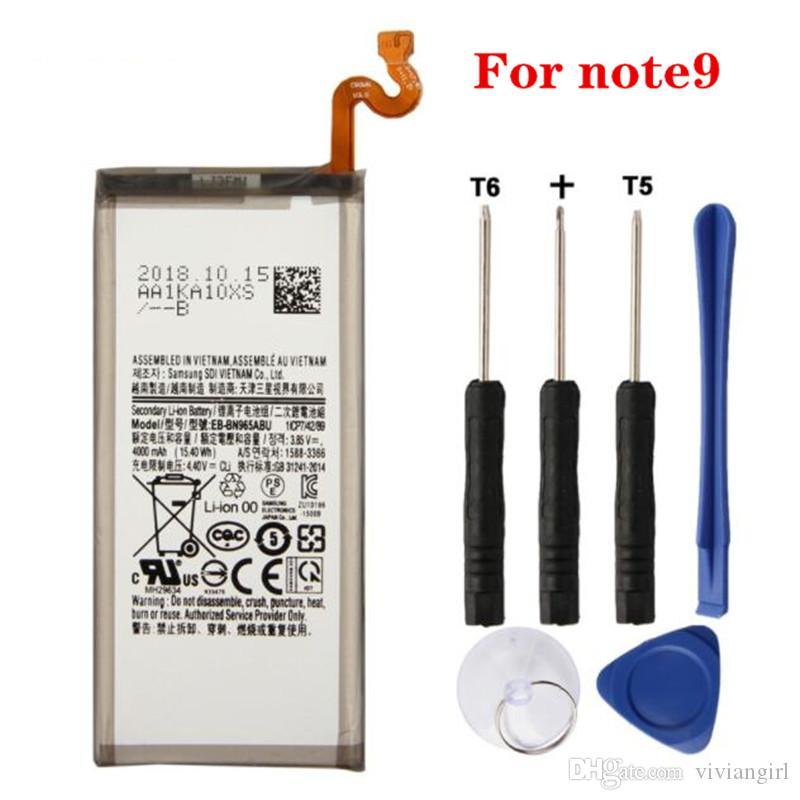 بطارية بديلة ذات جودة ممتازة لشركة Samsung Original Note1 note2 note3 note4 note5 note edge note8 note9 Battery Fast Delivery UK