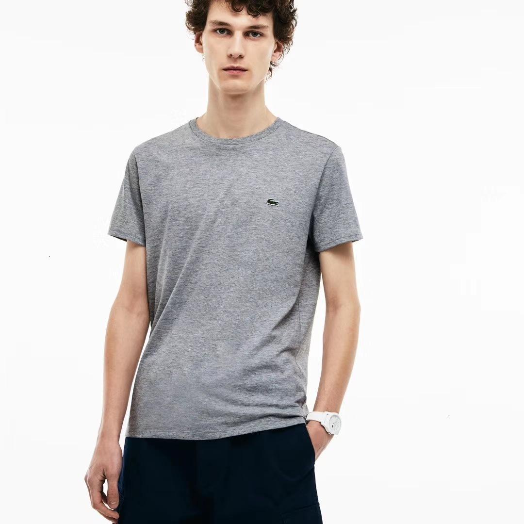 homens 2020 de alta qualidade confortável e casual de manga curta T-shirt moda verão em torno do pescoço T-shirt roupas da moda DBL51JME S4GN