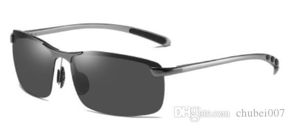 Антибликовая алюминия квадратный фут вождения солнцезащитные очки