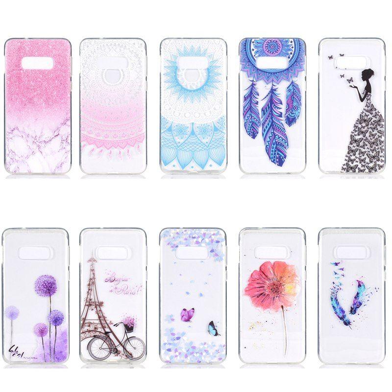 Coque Pour Samsung Galaxy S5 Mini S6 Edge S7 Edge S8 S9 Plus S10e Plus Transparent Motif Couverture Arrière Soft TPU Proposé Par Cn111153, 0,87 € | ...