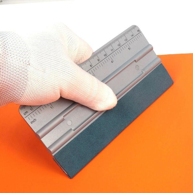 자동차 창 색조 비닐 랩 스퀴지 턱 가스켓 마이크로 스퀴지입니다 디자인 자석 내부를위한 새로운 응용 프로그램 도구