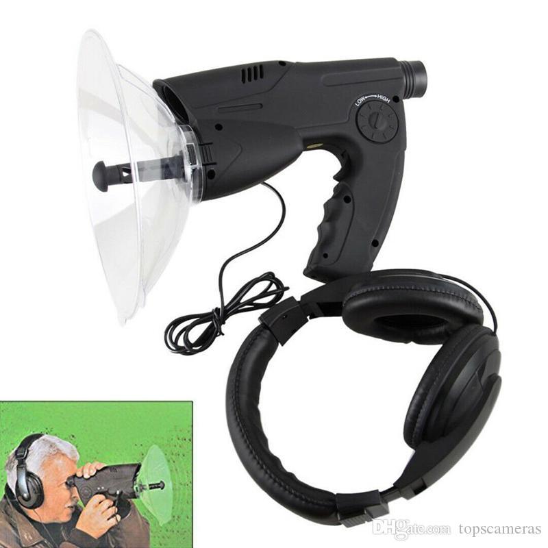 شحن مجاني صوت مكبر للصوت الأذن بيونيك الطيور تسجيل مراقب 100 متر ماكس الاستماع إلى أدوات الطيور في الهواء الطلق