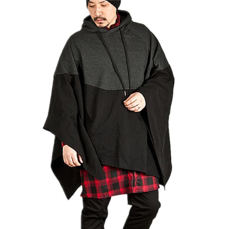Mens Cape Designer Chemises manches longues Mode couleur unie Style Homme Vêtements Automne Nouveau style de vêtements Casual