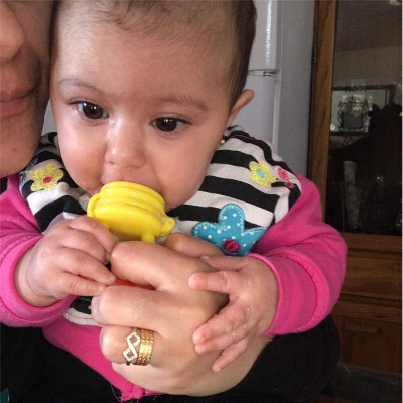 Baby Fruit Feeder Nippel Füttern Sicher Baby-Kind-Silikon-Babys Supplies Nippel Sauger Schnuller Flaschen