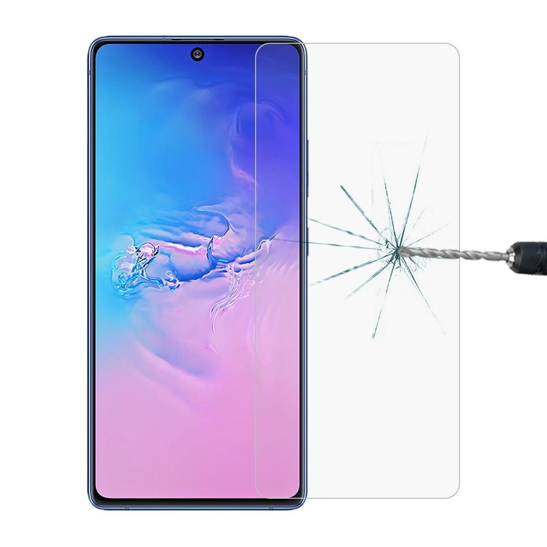 Für Galaxy S10 Lite 0.26mm 9H 2.5D Explosionsgeschützte Nicht-Vollbildschirm gehärtetes Glas Film