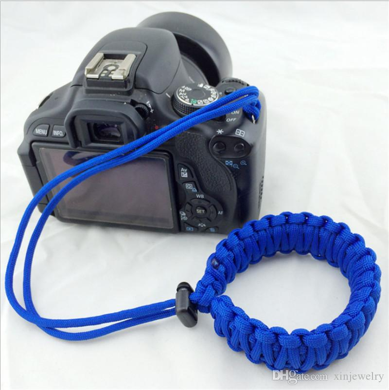 Outdoor Photography Emergency Survival Bracelet Practical Durable Camera Cord Digital Camera Wrist Strap Adjustable Photographer Safety Rope