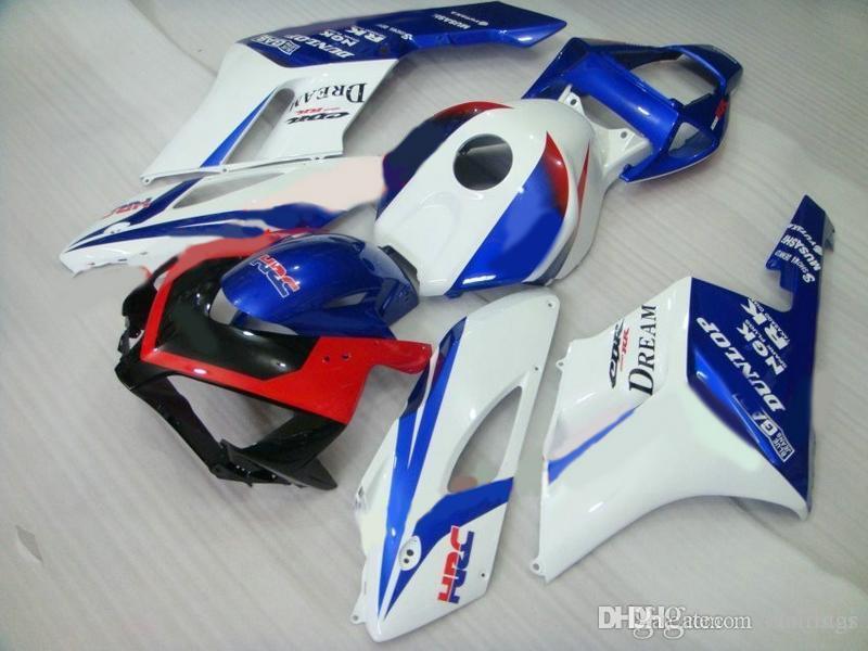 Hat sale Fairings for Honda CBR1000RR 2004 2005 blue white red Injection mold fairing kit CBR 1000 RR 04 05 GS14