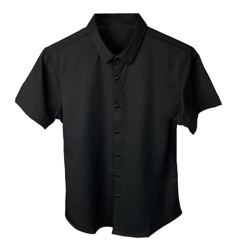 Летняя новая корейская версия мужской рубашки с коротким рукавом мода повседневная рубашка с коротким рукавом мужская прическа стилист социальный парень дюйм Ши