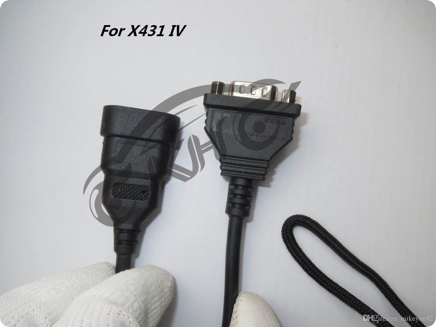 الأصلي لإطلاق X431 IV لمحول FIAT -3 لمحول الجيل الرابع من موصل FIAT-3 OBD II موصل