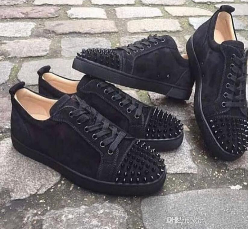 Luxury Shoes For Men Women Red Bottom