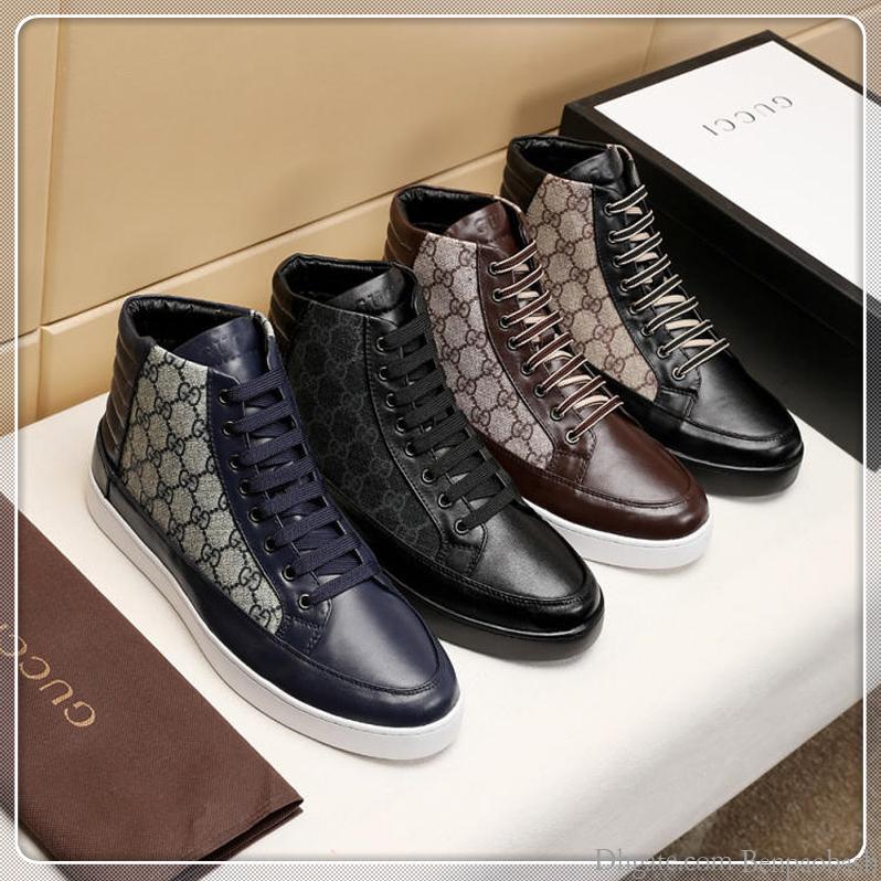 2019 мужской высокого верха высокого верха повседневная обувь, весна и осень на открытом воздухе путешествия кроссовки высокого верха повседневная обувь одного поколения с оригинальной коробке