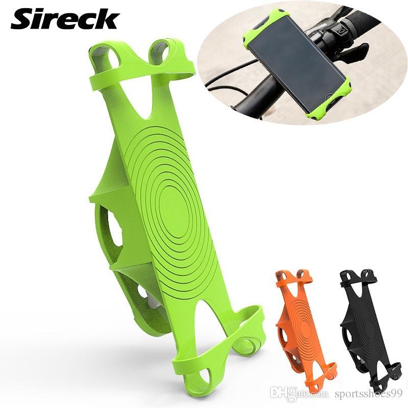 Sireck Bike Phone Holder For Smart Mobile Cell Phone Holder Bike Handlebar Mount Bracket GPS Stand Bicycle #122222