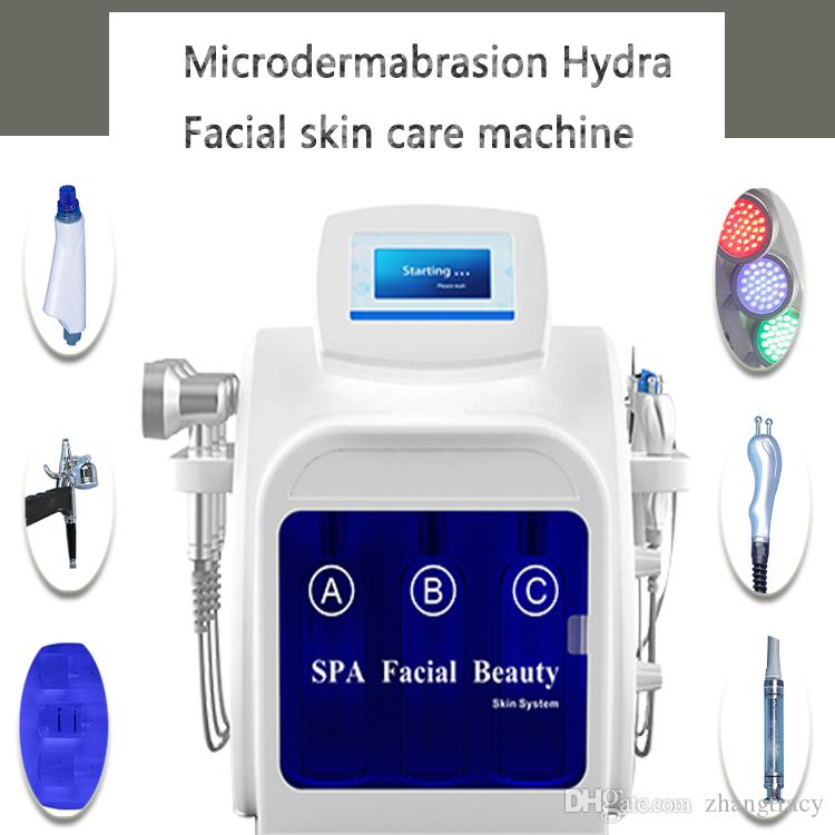 Dermabrasion professionale Diamond Hydra viso macchina acqua diamante dermoabrasione peeling viso macchina per il viso SPA uso salone