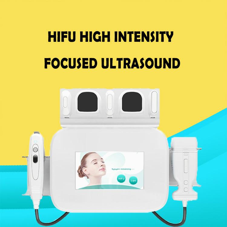 Новый тип стороны HIFU Liposonix 2 в 1 липосакция машина кожи лица спа-машина Liposonic для похудения HIFU-терапия высокотехнологичного оборудования
