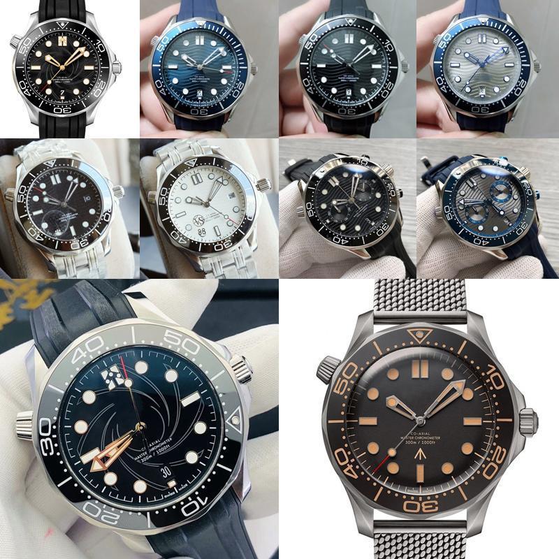 Omega Luxux Mens Seamaster james bond aqua Mens Uhr Terra automatische mechanische Meer GMT Männer Sport Master-Uhr-Marke Designer 4oH7 #