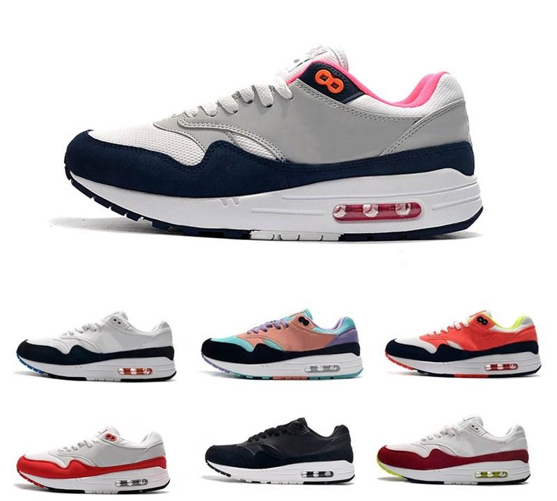2020 top max 87 Mens Maxes 1 Anniversary 87 Undercover Running Casual Scarpe da donna Animal Pack 1s 87s Classic Zapatos Trainers 36-45