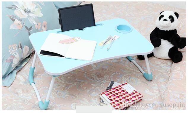 컵 홀더 노트북 테이블 접이식 작은 테이블 학생 책상 게으른 표 기숙사 유물 BNJ 001