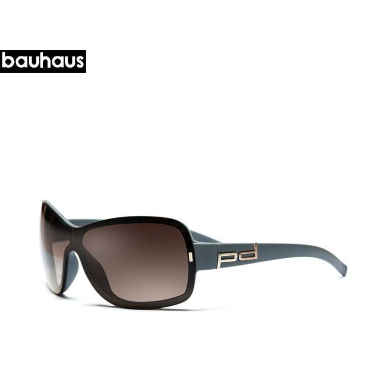 Bauhaus più nuovi uomo unico degli occhiali da sole vetri quadrati Vintage grandi della struttura di vetro di Sun TR90 Shades Gradient Occhiali