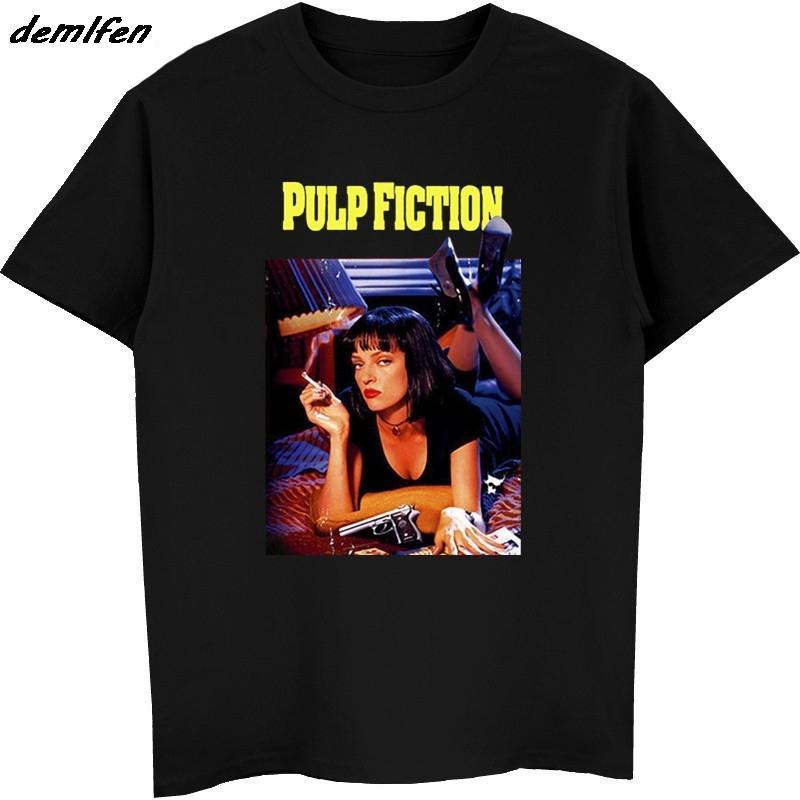 Nouveau mode d'été Pulp Fiction, Affiche, 1994, Quentin Tarantino T-shirt Hommes O col Shoer manches Hauts Tees T-shirt XS-5XL CY200515