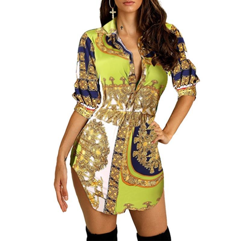 Nueva primavera y el verano impresiones de época sin mangas de cuello redondo estilo de vestir Hepburn L5 atractiva vestido de la cintura fina de piel de leopardo